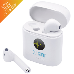 Atune Bluetooth® Earbuds with Charger Case